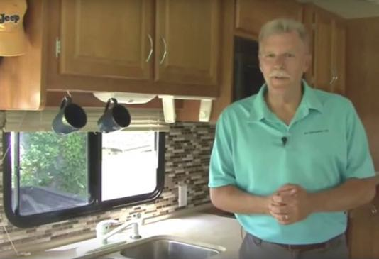 How to retile your RV kitchen