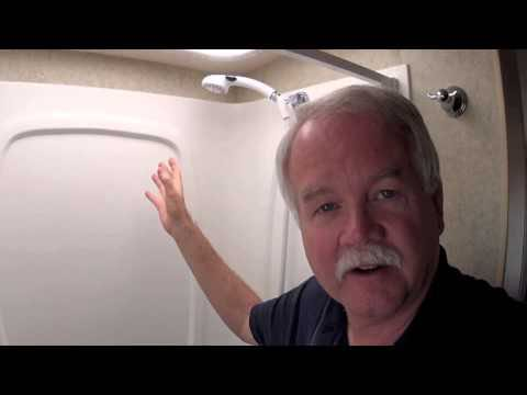 How to take an RV shower using very little water