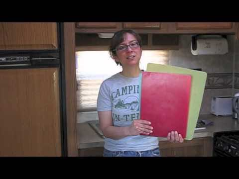 A handy way to save space and weight in your RV kitchen