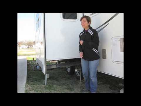 Make sure you know the height and width of your RV slideouts