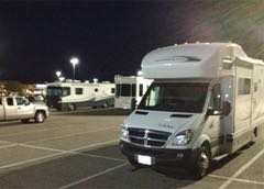 Six safety tips for overnight RV parking at casinos