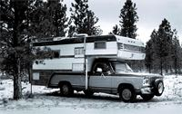 winter camper