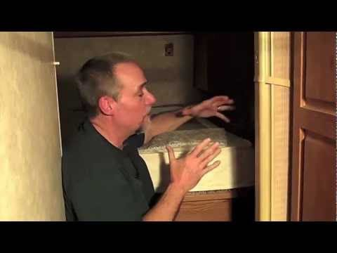 How to keep mildew from forming under RV memory foam mattresses