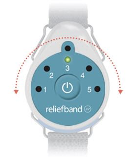 ReliefBand relieves nausea from motion sickness