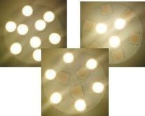 SalVinCo 3-way LED lights
