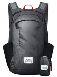 Matador day pack packs into tiny sack