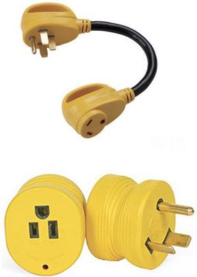 question about installing 50 amp rv outlet at home rv travel however i ve seen a few forums that recommend the opposite where you use a 50 amp male to 15 amp female adapter to power a small rv from a 50 amp pedestal