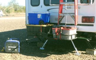 RVers dodge a bullet from generator exhaust - RV Travel