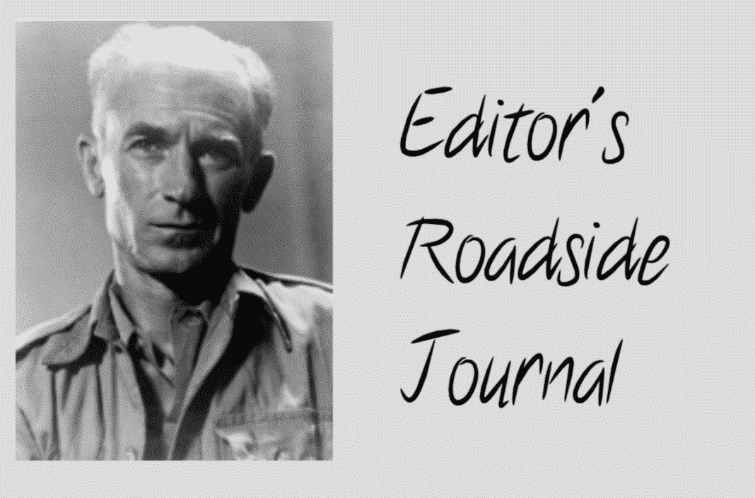 Ernie Pyle On The Road Before You And Me Rv Travel