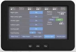 Monitor/control RV functions with iN-Command Control Systems