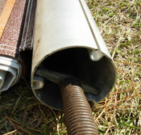 Many Awning Roller Tubes Depending On Brand And Vintage Have Two Or Three Individual Slots One For The Canopy Another Valance Possibly A