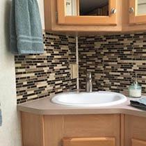 Jazz up your backsplash with peel-and-stick Smart Tiles