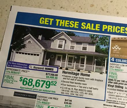 Do-it-yourself home from a big box store - RV Travel on pottery barn house plans, belk house plans, amazon house plans, hallmark house plans, ebay house plans, ranch house plans, marriott house plans, ikea house plans, carter lumber house plans, walk out basement house plans, loft house plans, metal shop house plans, do it best house plans, small 3 bedrooms house plans, lowe's house plans, brady house plans, secret passage house plans, house floor plans, single story house plans, simple 4 bedroom house plans,