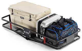 Carry more stuff with a Vault Cargo Hitch Carrier