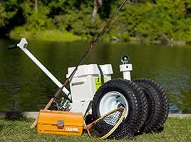 Move your Pod or fifth-wheeler with Parkit360 power dolly