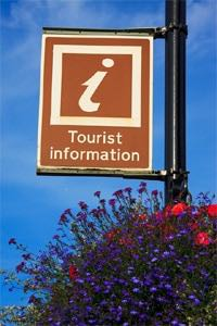 It pays to stop at tourist bureaus and visitor centers