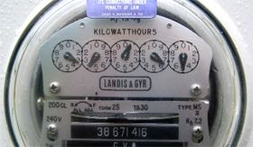Paying an RV park for power? Read your meter!