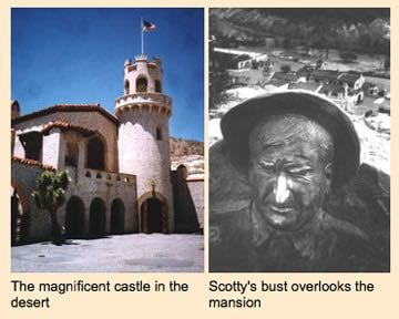 Death Valley castle built on a foundation of lies
