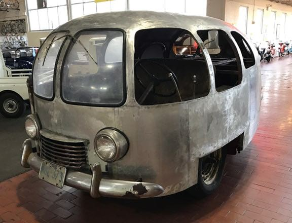 Streamliner Car Was Made From B 29 Bomber Skin Rv Travel
