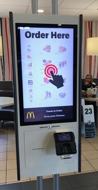 'Robots' now taking orders at McDonald's