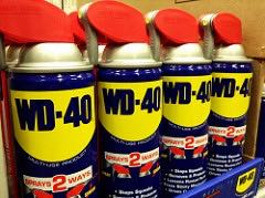 A few of the many uses for WD-40