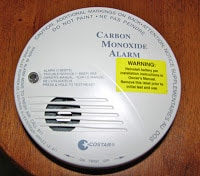 Why are RV batteries setting off CO detector?