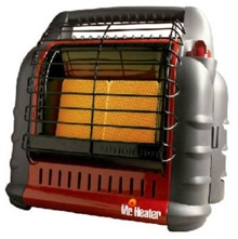 This cold winter a propane heater may provide welcome warmth