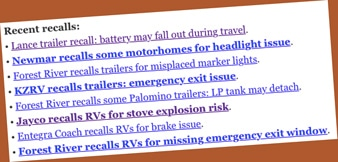 Really? RV industry survey doesn't even suggest improving quality