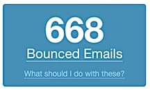 Bounced emails. Frustrating!
