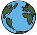 Globe, Earth, Planet