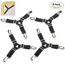 Keep your sheets tight with suspenders