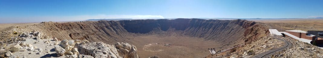 That's a big hole! – Visit Meteor Crater