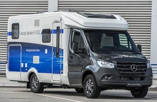 Fuel cell technology powers prototype Mercedes RV - RV Travel