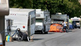 """Where to put """"homeless"""" RVers a problem not going away"""