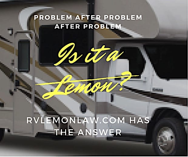 Fed Up With Your Defective RV? Get Help!