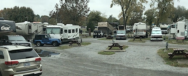 RV park fees higher this Labor Day weekend