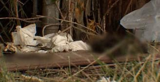 Homeless in roadside encampment create problem with officials
