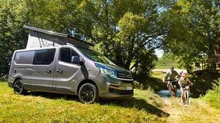 17-foot Karmann Danny 530 camper van debuts with rear bath, sleeps 4
