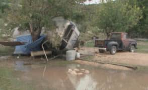 Two bodies found after four people swept away in Junction, Texas, flood