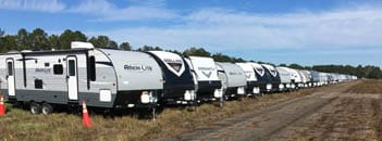 Travel trailers to become temporary homes to hurricane victims