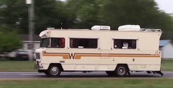 Need more power in your RV? Check out this '78 Winnebago turbo