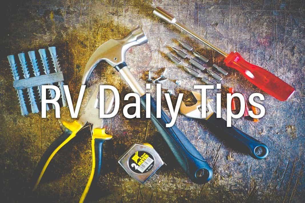 RV Daily Tips Newsletter 1036