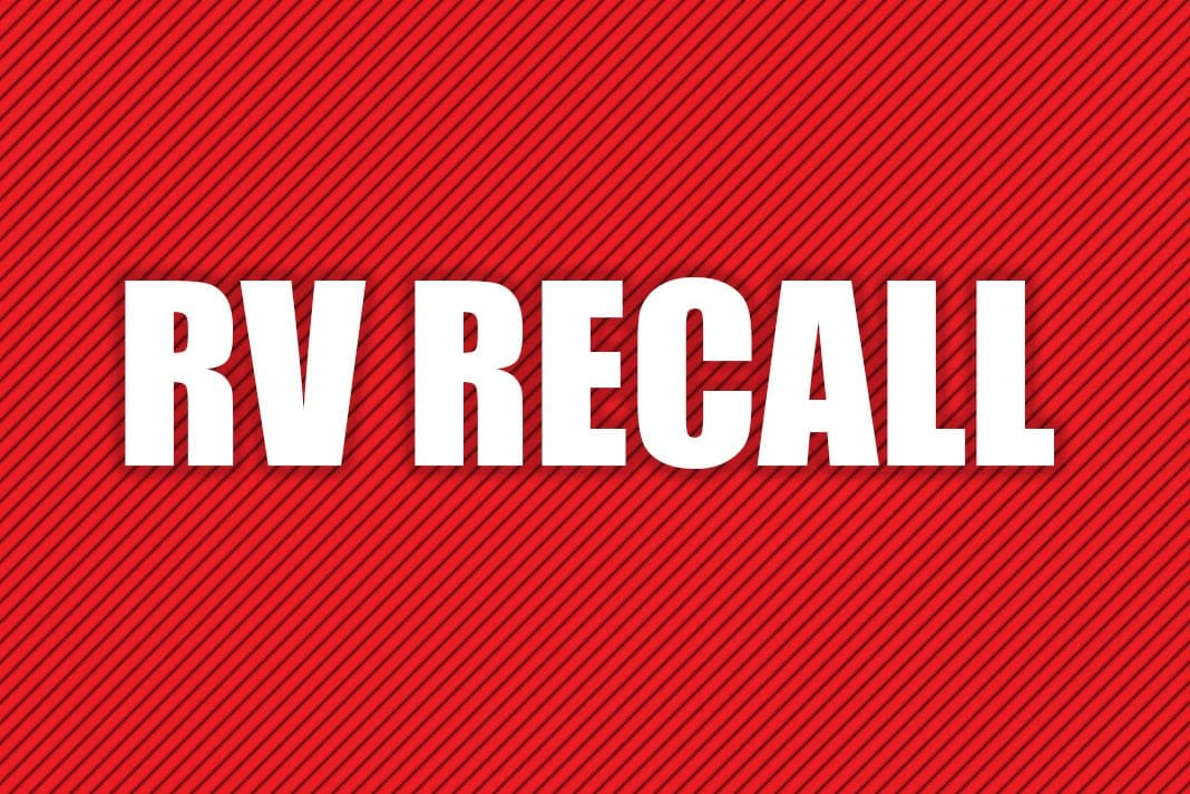 RV and RV-related recalls for May 2019 - RV Travel
