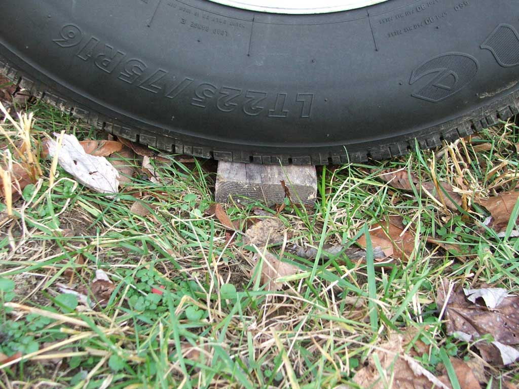 Preserving your RV's tires when parking long-term