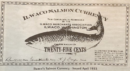 """How """"Oyster Money"""" and """"Salmon Currency"""" saved the day"""