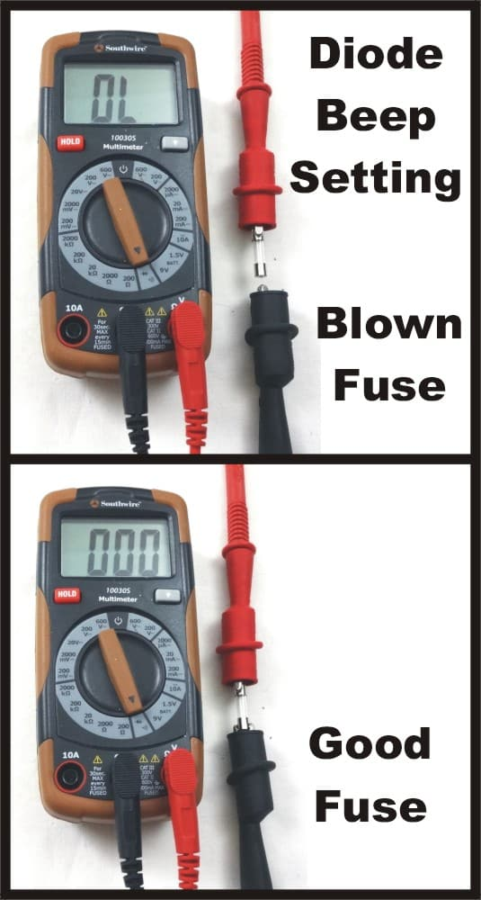 Forum Q&A – How to test a fuse