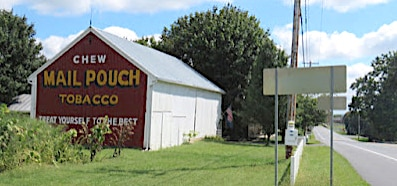 Mail Pouch barns a reminder of another time