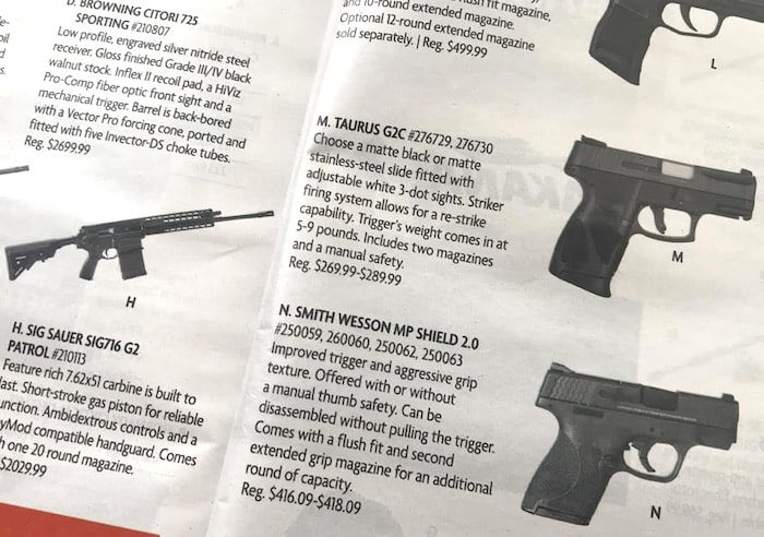 Should Camping World sell semi-automatic weapons?