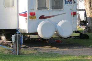 Do you need an external spare tire cover?