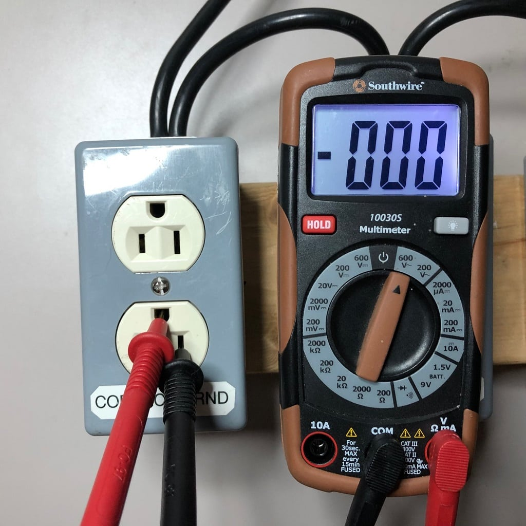 RV Electricity – Electrical safety for RVers – Part 2 – Digital meters
